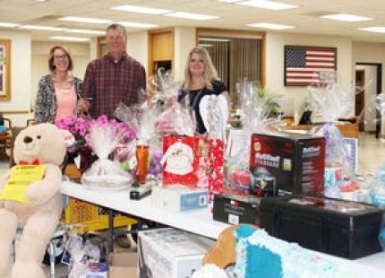 Lions Club auction items